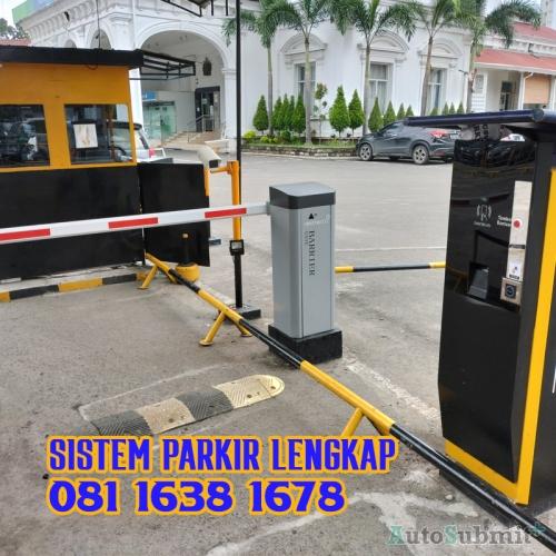 Sistem Parkir Lengkap di Kota Medan